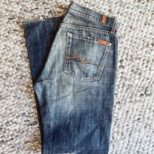7 for All Mankind Men's Relaxed Denim